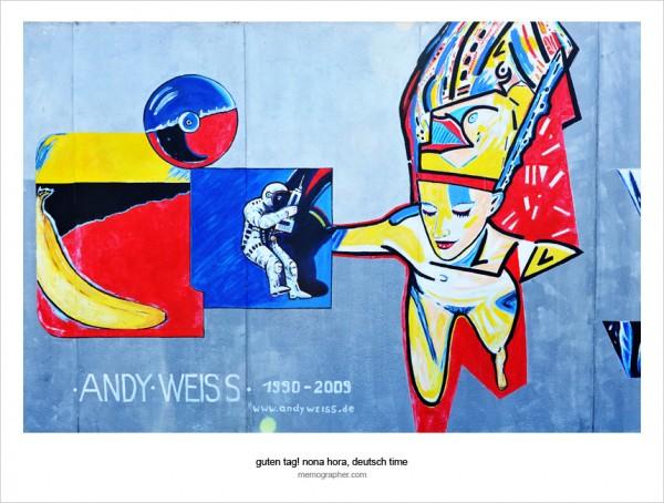 Berlin Wall. East Side Gallery