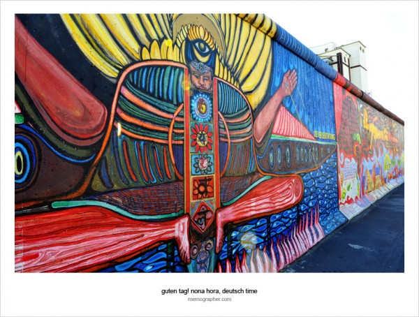 Berlin Wall. East Side Gallery