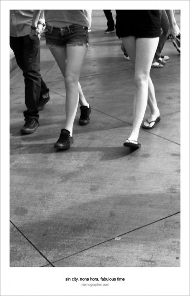 A Story of the Legs. Las Vegas, Nevada