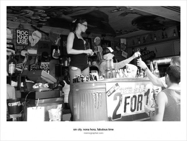 Girls Selling Beer 2 for 1. Las Vegas, Nevada