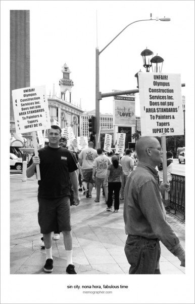 People On Strike. Las Vegas, Nevada