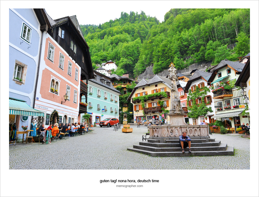 Central Square. Hallstatt, Austria 
