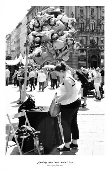Life on the Streets of Vienna, Austria