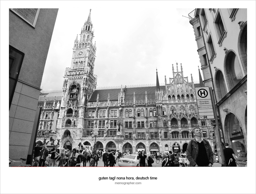 A Photo Walk to Marienplatz. Munich, Germany.