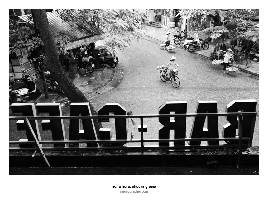 A Street View. Hanoi, Vietnam