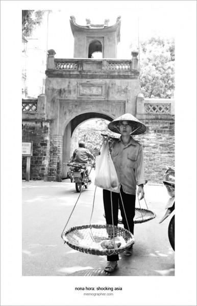 Vietnamese Woman. Old Quarter. Hanoi, Vietnam