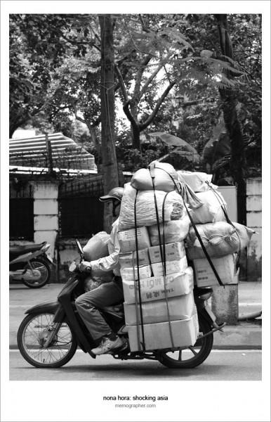 A Cargo Scooter. Hanoi, Vietnam