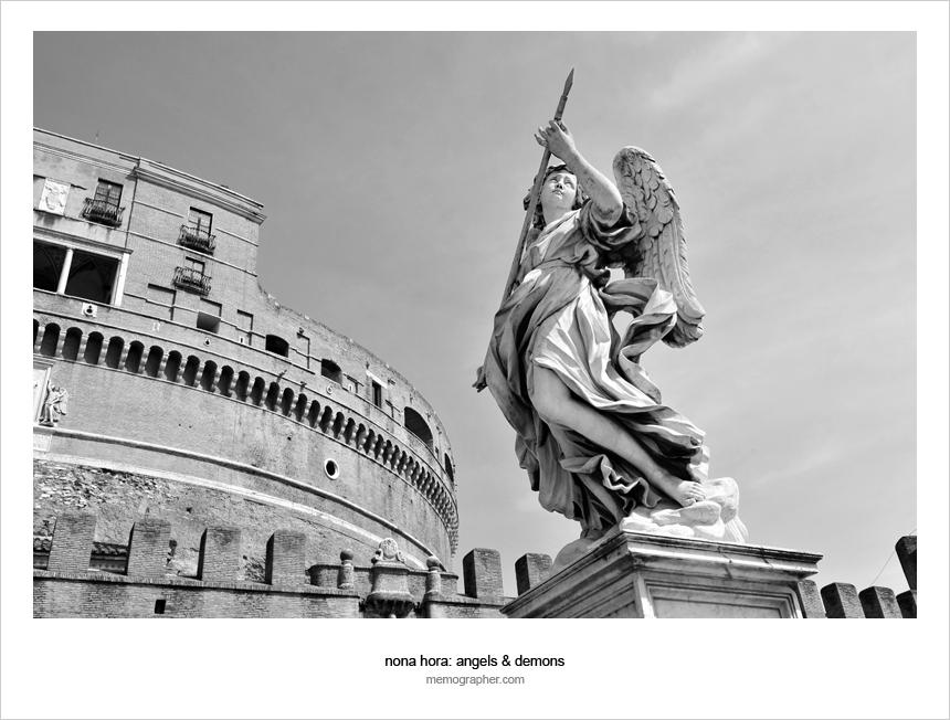 Castel Sant'Angelo. Rome, Italy