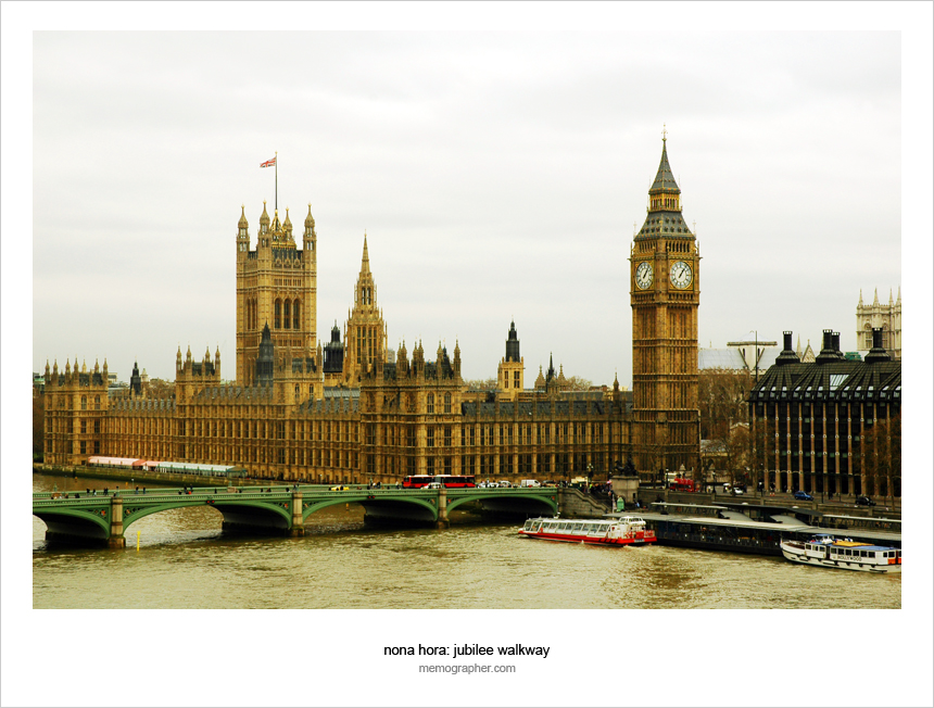 The Palace of Westminster. London, England