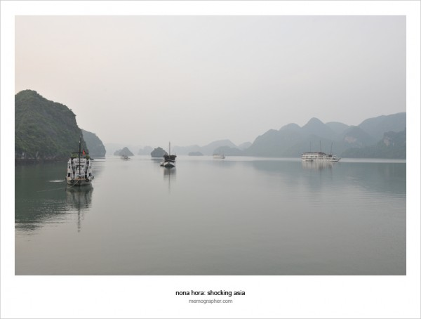 Before Sunrise. Ha Long Bay, Vietnam