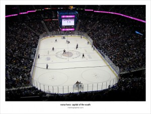Philips Arena. Requiem for Atlanta Thrashers