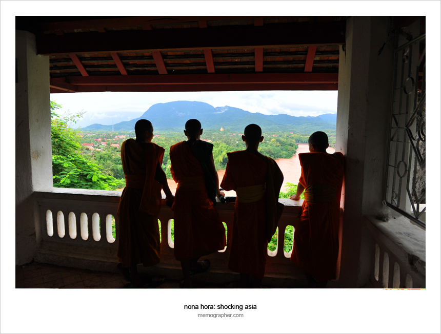 Monks of Laos
