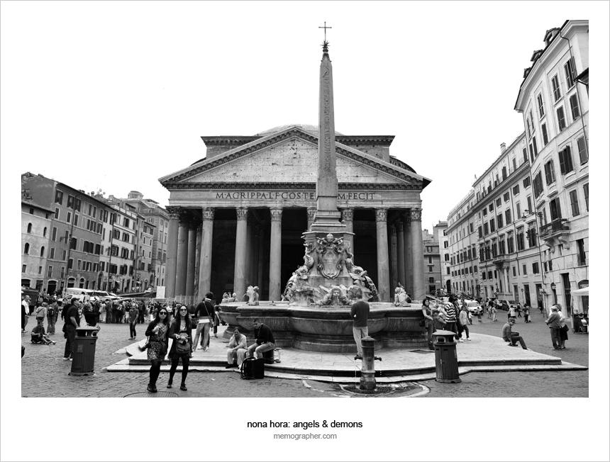 The Roman Pantheon and Piazza della Rotonda