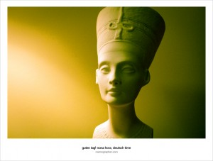 Meeting Nefertiti. Berlin, Germany