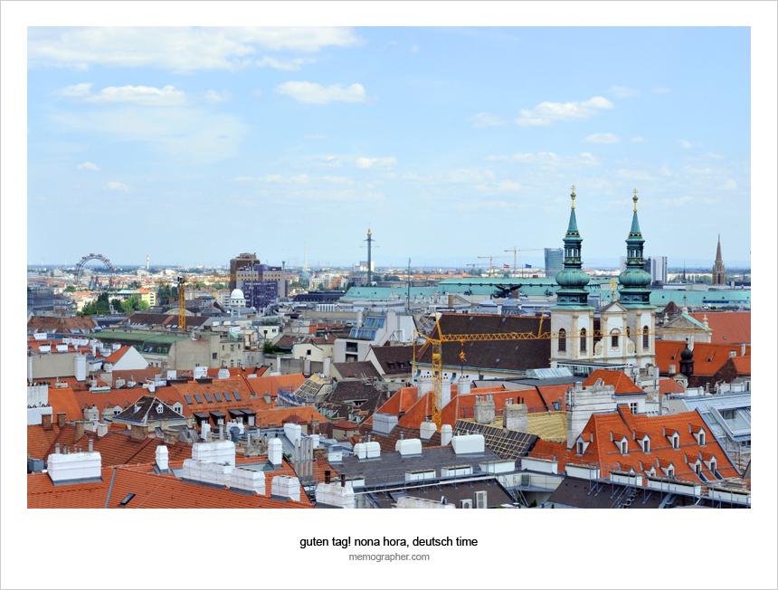 Cityscape of Vienna, Austria