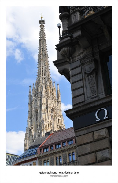 The Steffl. St. Stephen's Cathedral's South Tower. Vienna, Austria