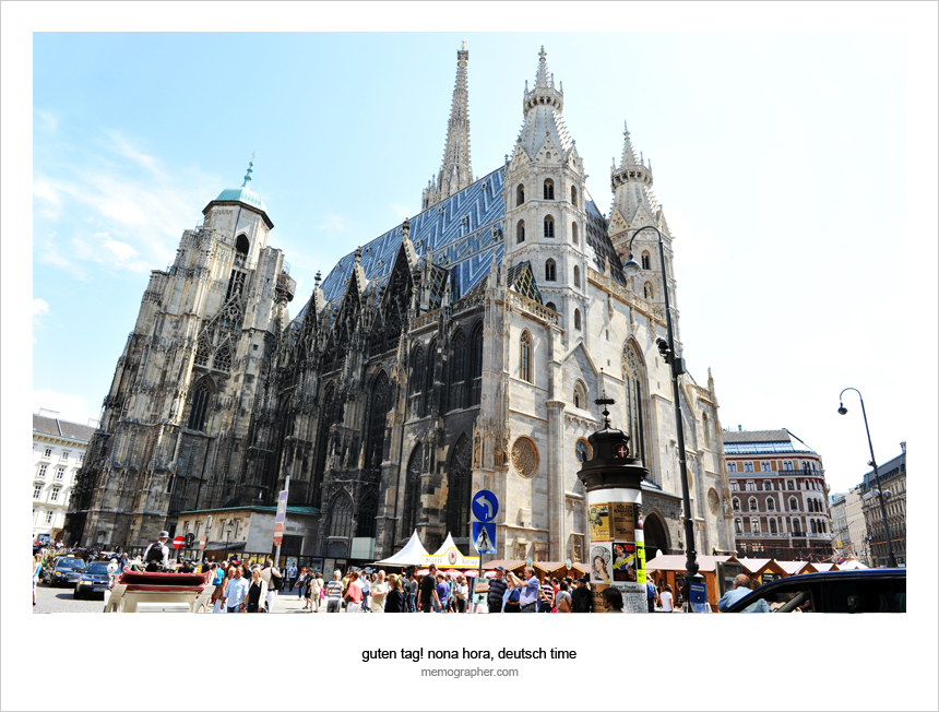 St. Stephan's Cathedral. Vienna, Austria