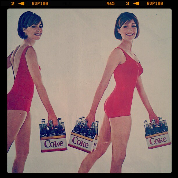 """The Most Sexiest Coca-Cola Ad. Says """"For Extra Fun Take More Than One"""". Click on the image to view the 2nd version"""