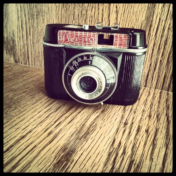 On My Shelves. My Father's First Camera Vesna