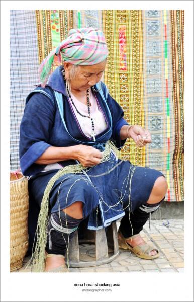Vietnamese Woman. Sapa Vietnam and its tribes