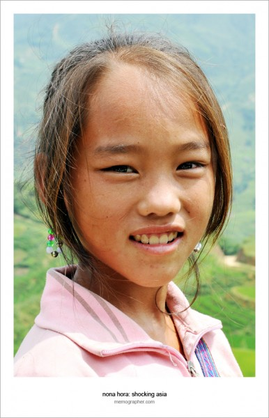 Vietnamese Girl. Sapa Vietnam and its tribes