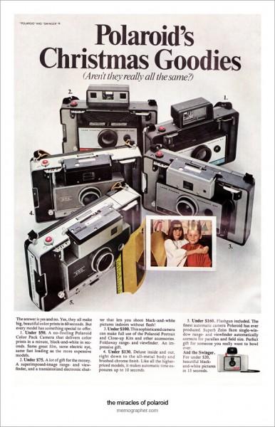 Polaroid Instant Cameras Ad