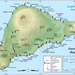 Large Printable Map of Easter Island 
