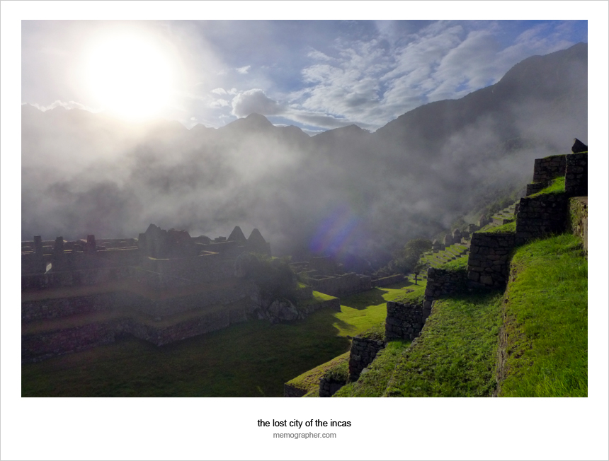 Machu Picchu - The Lost City of The Incas