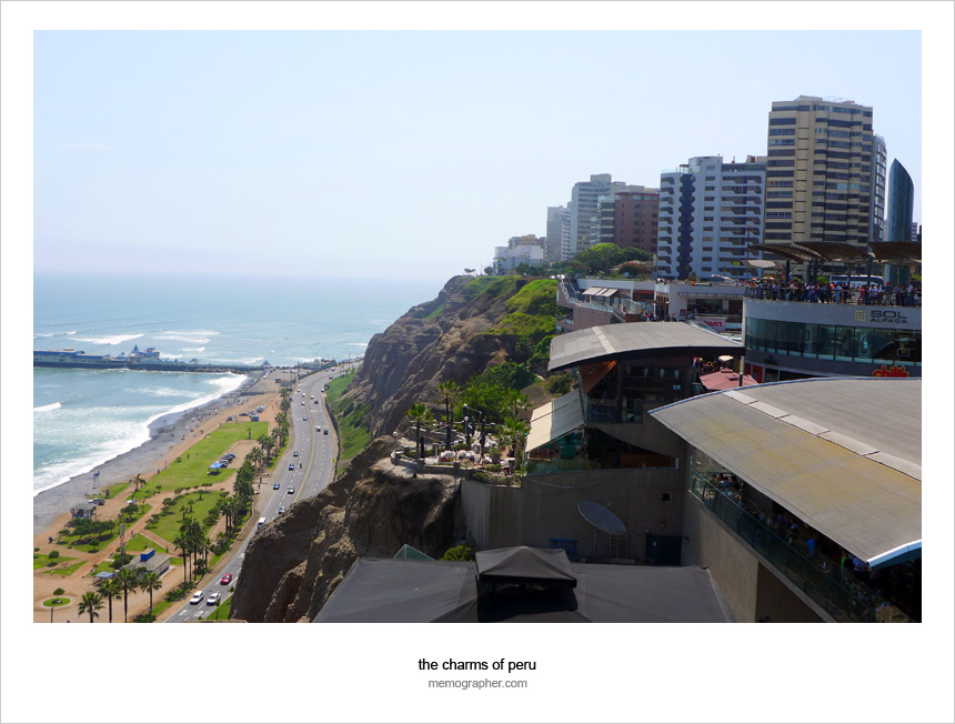 Larcomar. Miraflores, Lima, Peru
