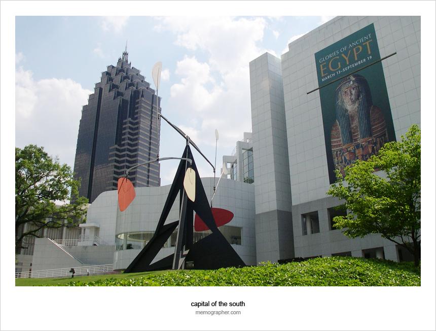 Promenade II and High Art Museum, Atlanta