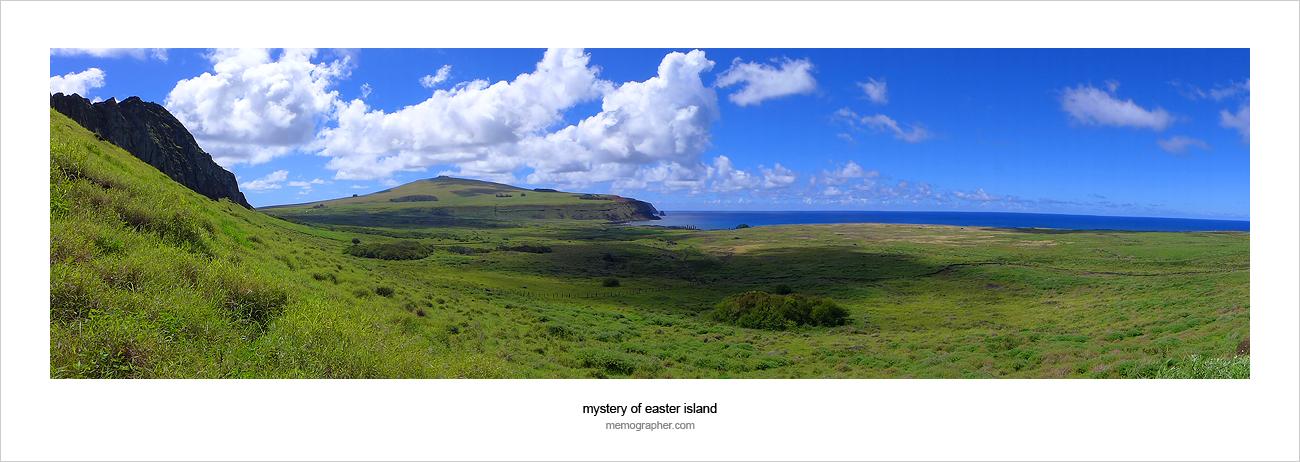 Ahu Tongariki. Easter Island, Chile