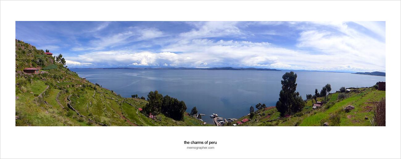 Taquile Island. Lake Titicaca, Peru