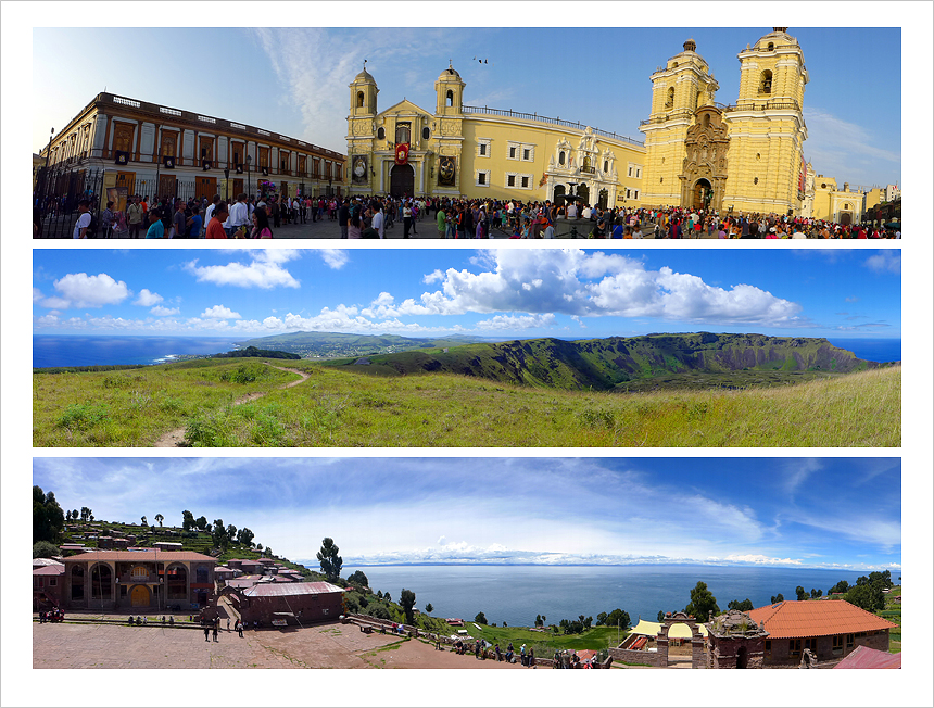 Panoramas of South America