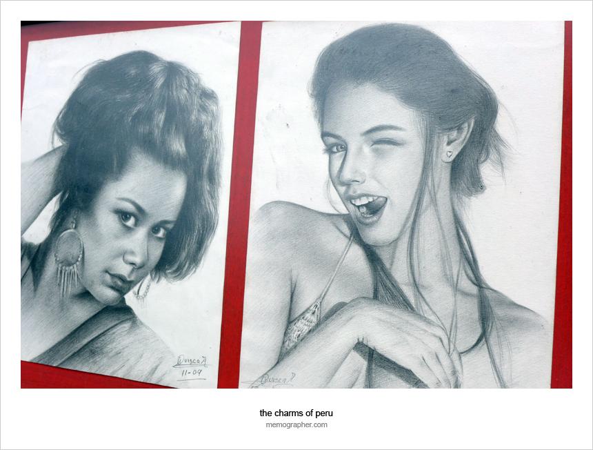 Stranger Portraits: Behind the Artist's Shoulder