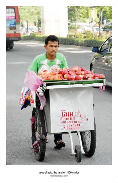 Thai Hawker. Bangkok, Thailand