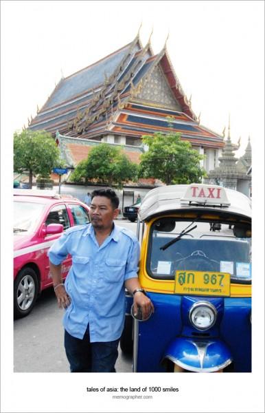Taxi Driver. Bangkok, Thailand