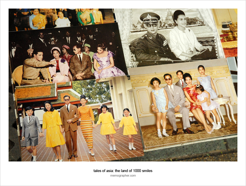 Photos of Thailand Royal Family for sale