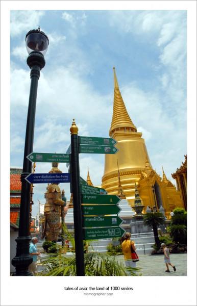 Old Bangkok Made of Gold