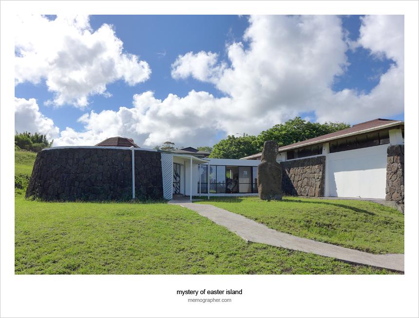 The Father Sebastian Englert Anthropological Museum - Rapa Nui Museum