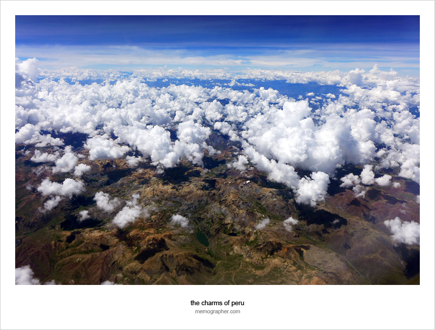 Over the Andes. Peru