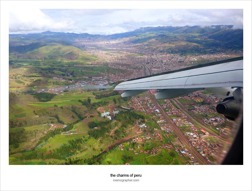 Landing to Juliaca Airport (JUL), Peru