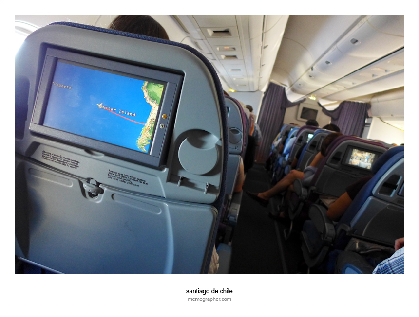 LAN Airlines: On the Flight to Easter Island, Chile