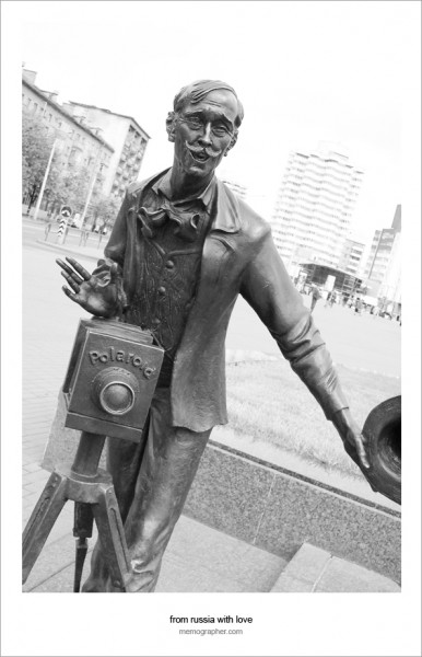 Bronze Photographer. Minsk, Belarus