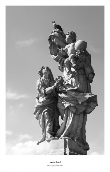 Statues on the Charles Bridge