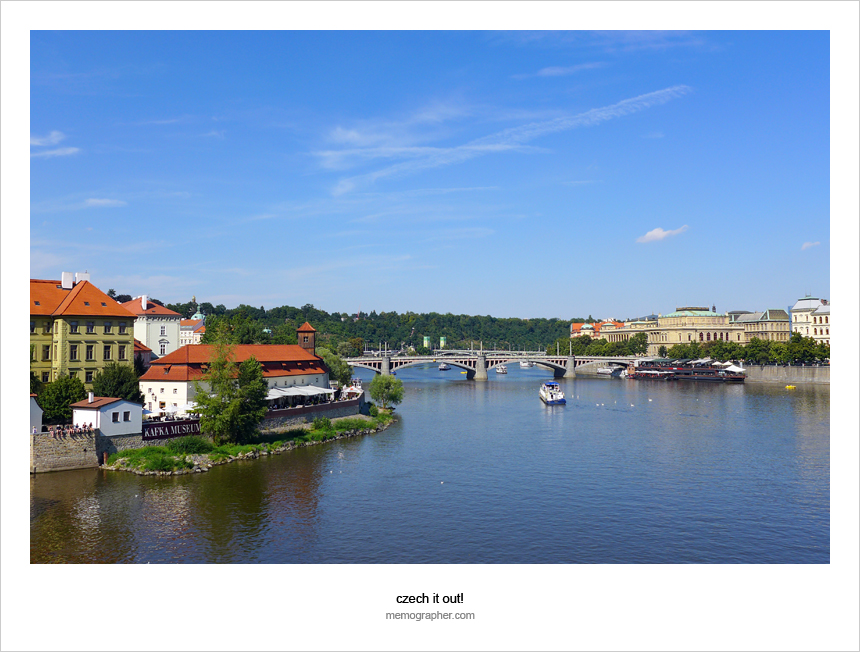 Vltava river. Prague, Czech Republic