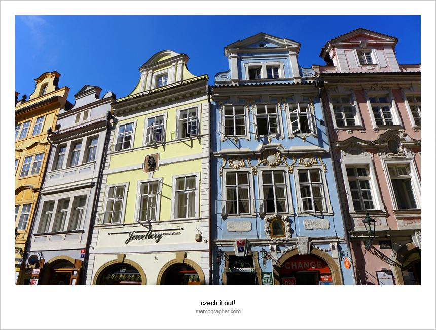 Malostranské náměstí. Praha, Czech Republic 