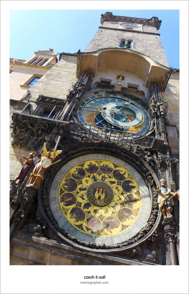 The Prague Astronomical Clock. Czech Republic