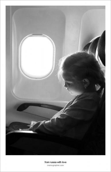 A Little Passenger on board Czech Airlines