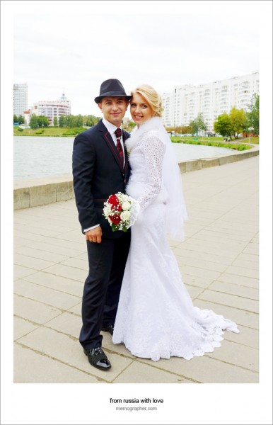 Street Wedding Photography: Brides in Czech Republic and Belarus