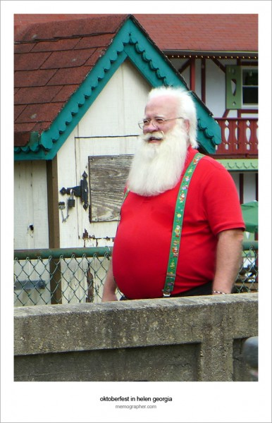 Santa Claus on Vacation :)